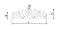 図:充填後出来形寸法